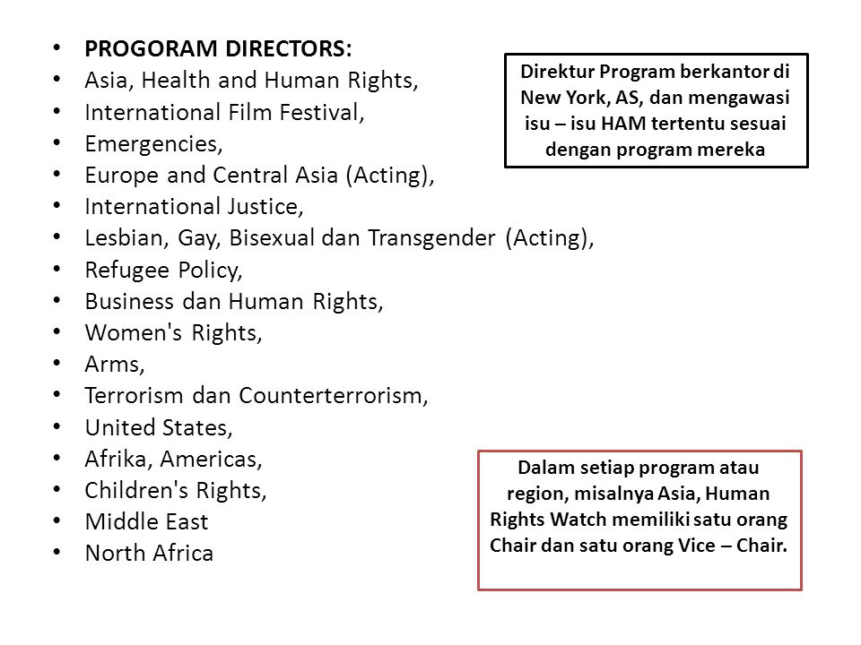 Asia, Health and Human Rights, International Film Festival,