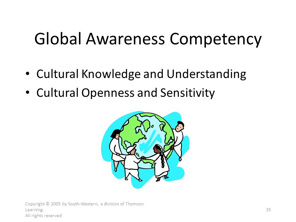 Global Awareness Competency