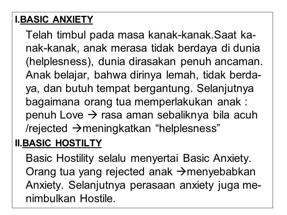 I.BASIC ANXIETY