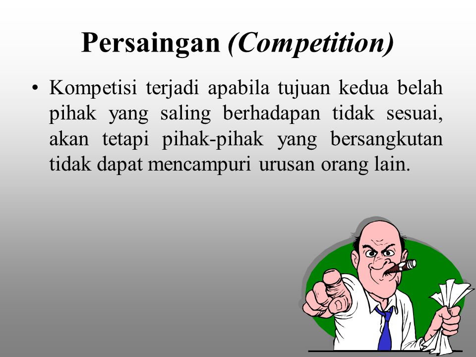 Persaingan (Competition)