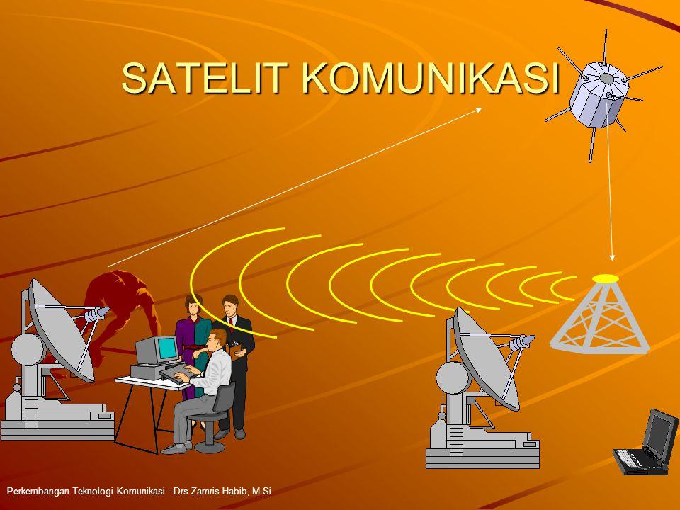 SATELIT KOMUNIKASI Perkembangan Teknologi Komunikasi - Drs Zamris Habib, M.Si 4