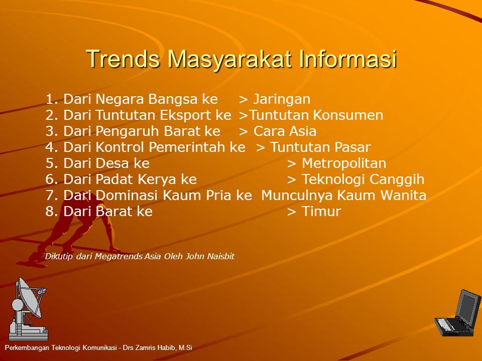 Trends Masyarakat Informasi