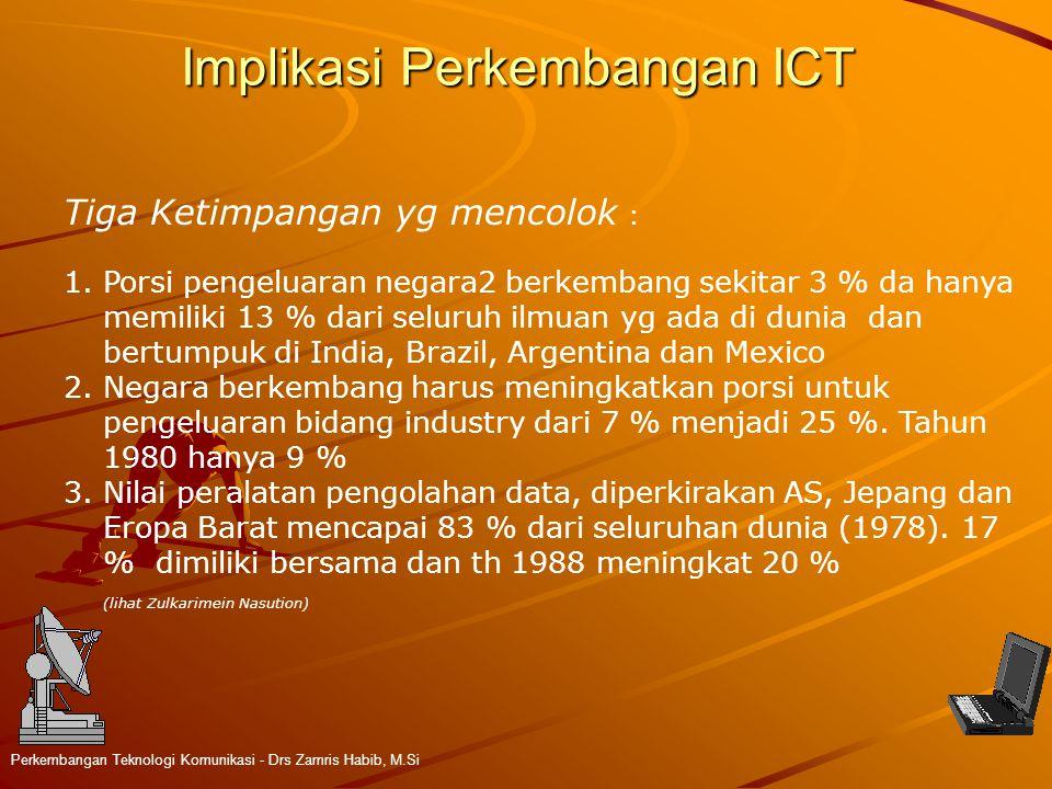 Implikasi Perkembangan ICT