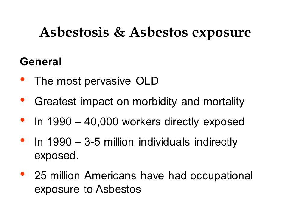 Asbestosis & Asbestos exposure