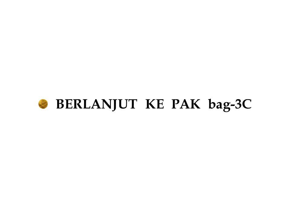BERLANJUT KE PAK bag-3C