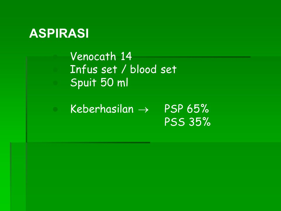 ASPIRASI Venocath 14 Infus set / blood set Spuit 50 ml