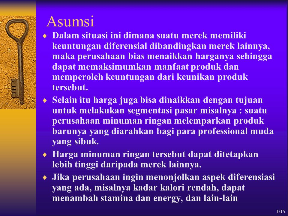 Asumsi