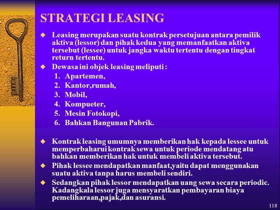 STRATEGI LEASING