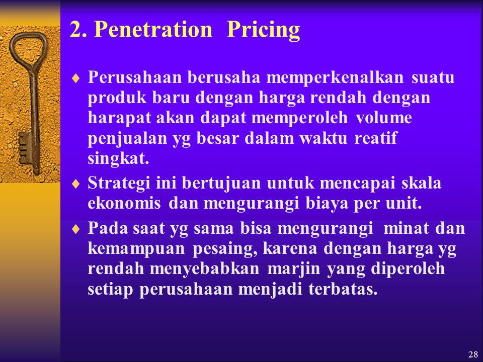 2. Penetration Pricing