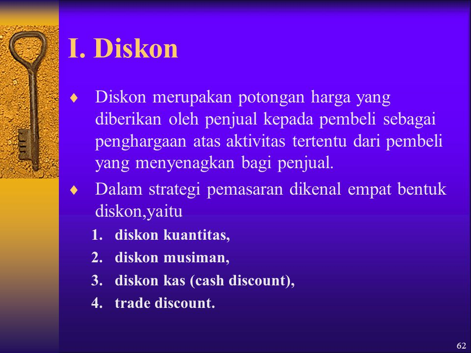 I. Diskon