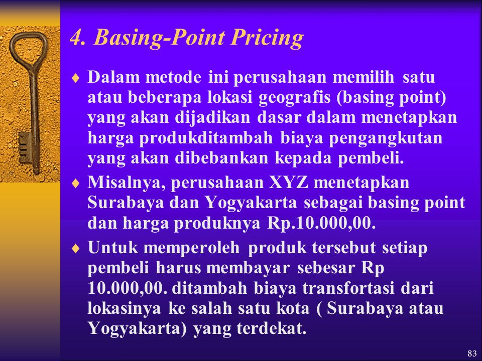 4. Basing-Point Pricing