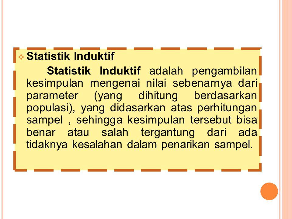 Statistik Induktif