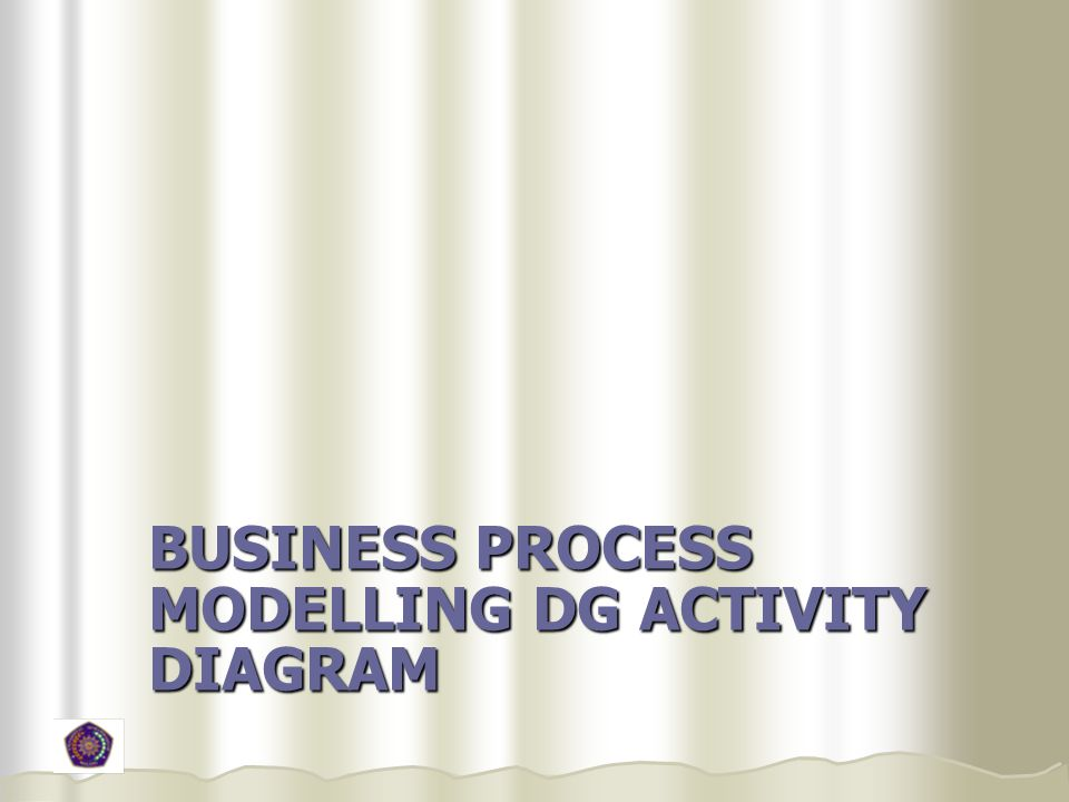 Business Process Modelling dg Activity Diagram
