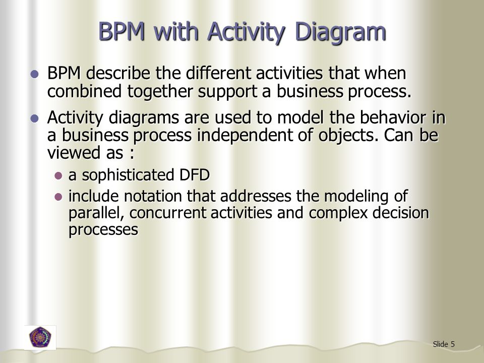 BPM with Activity Diagram