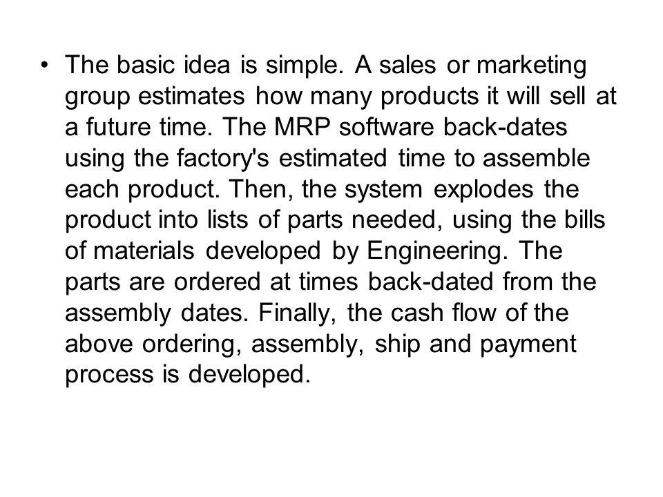 The basic idea is simple