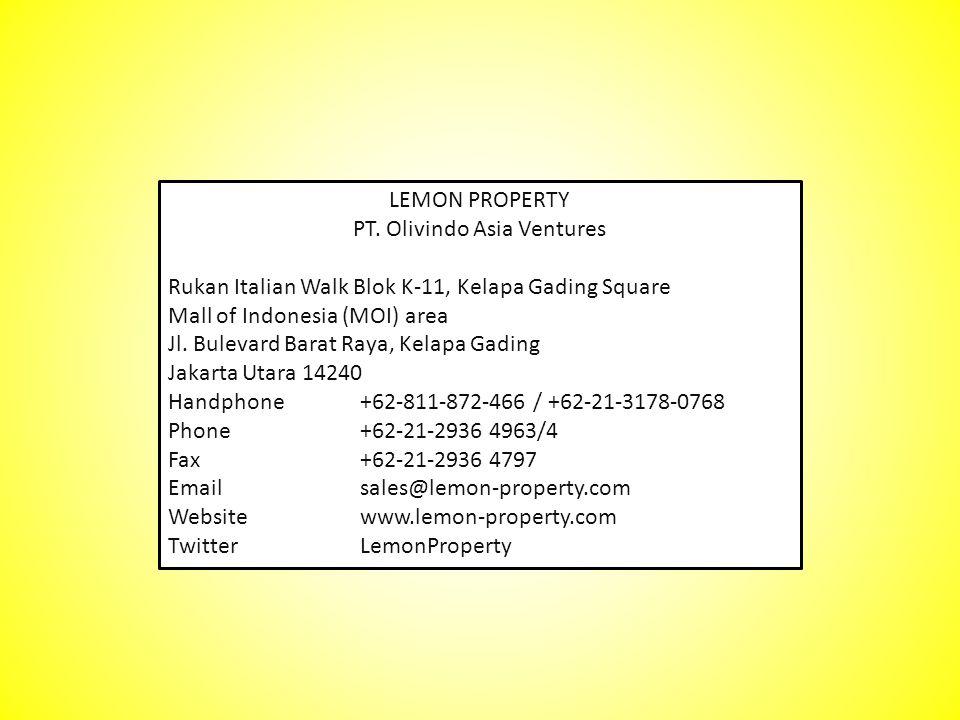 PT. Olivindo Asia Ventures