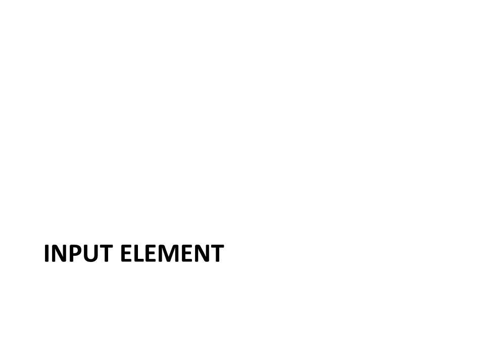 Input Element
