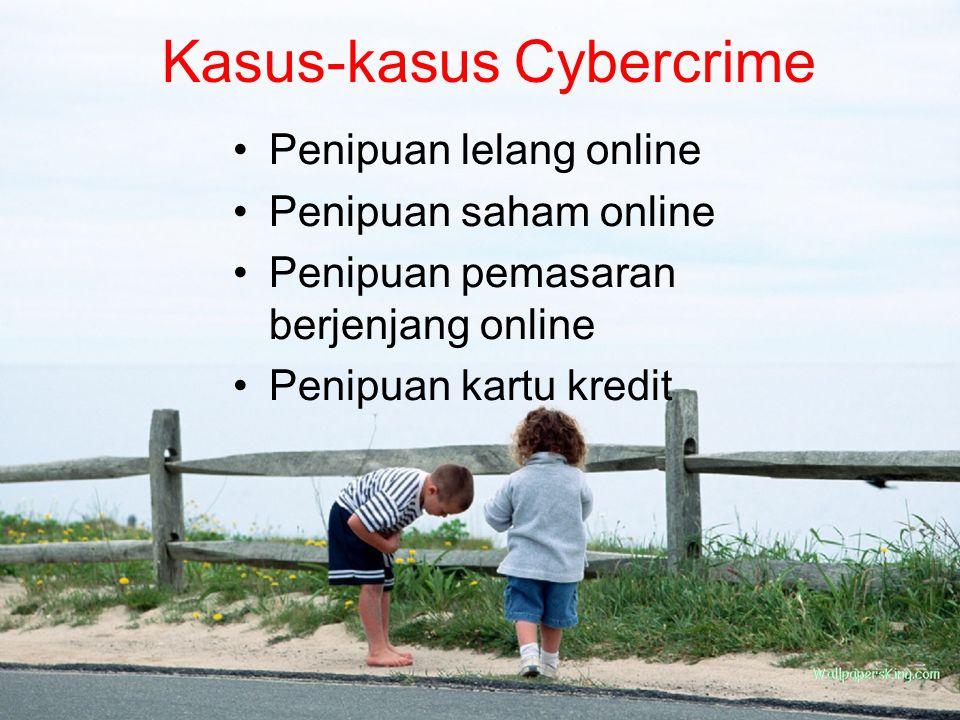 Kasus-kasus Cybercrime