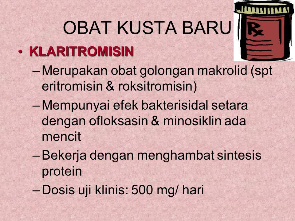 OBAT KUSTA BARU KLARITROMISIN