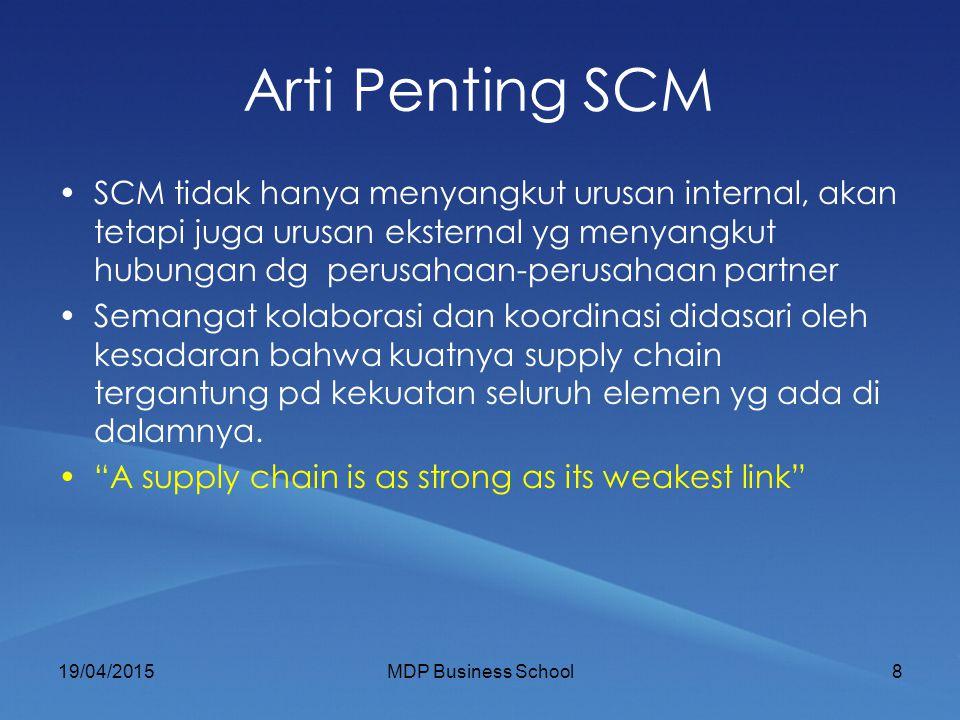 Arti Penting SCM