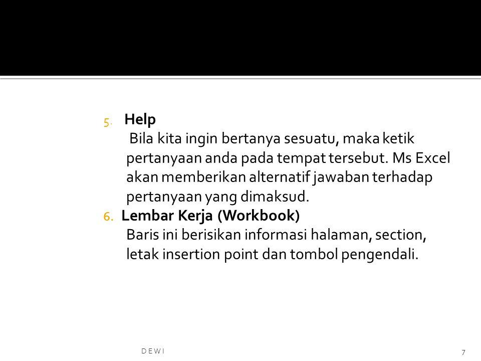 Lembar Kerja (Workbook)
