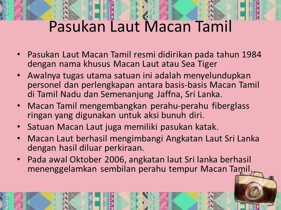 Pasukan Laut Macan Tamil
