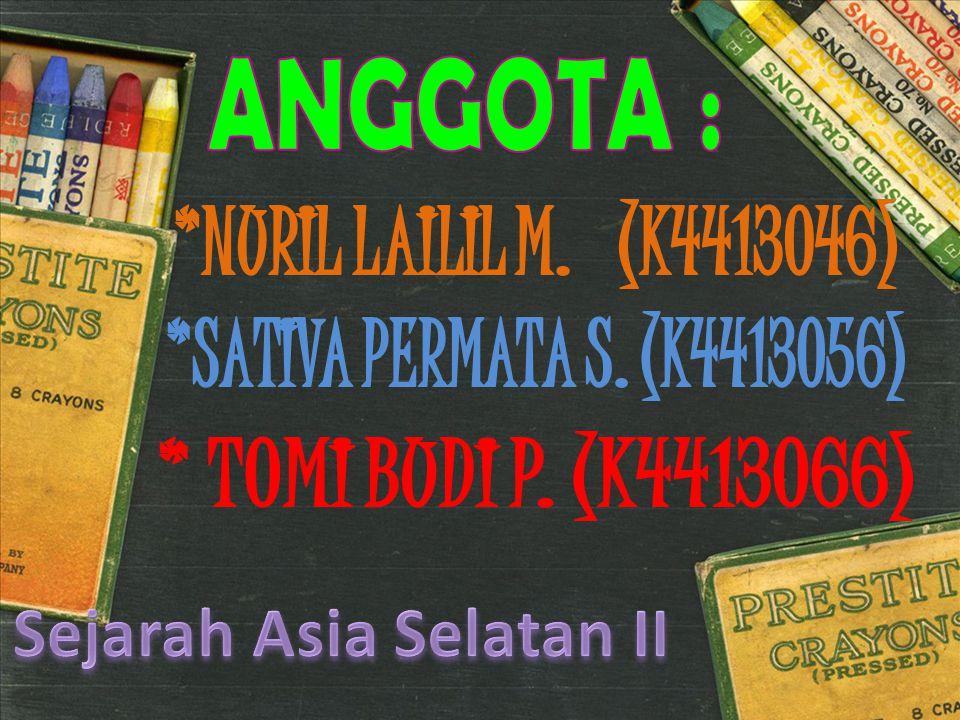 Sejarah Asia Selatan II
