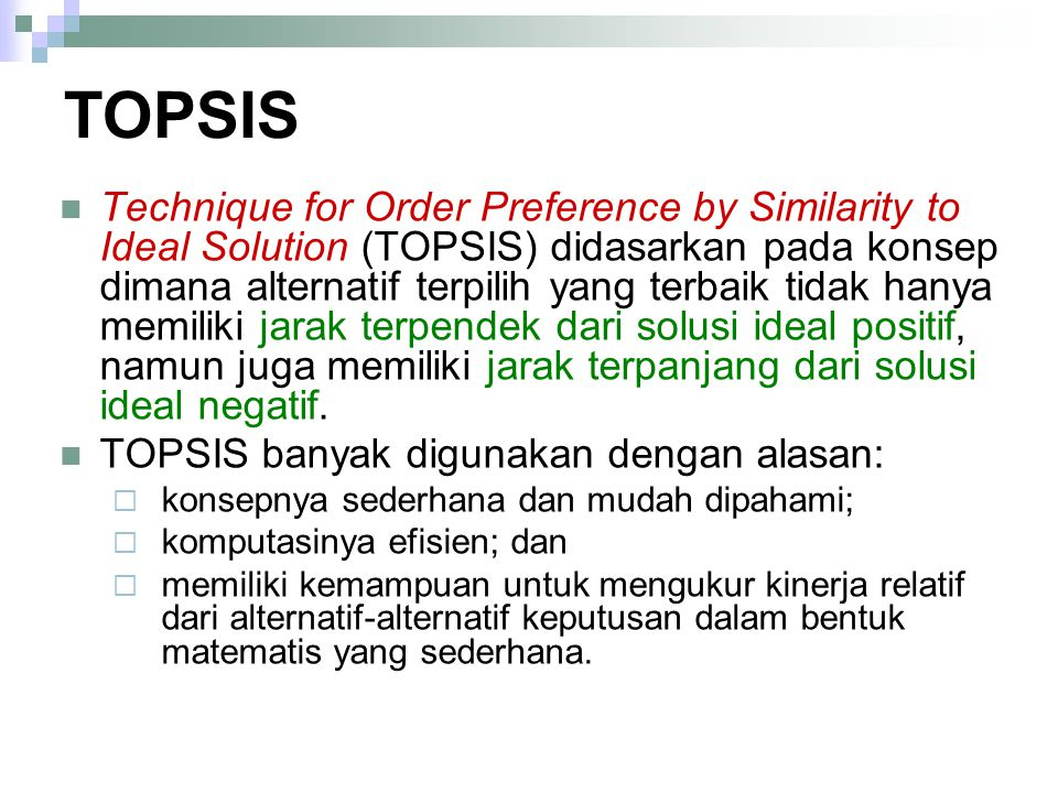 TOPSIS
