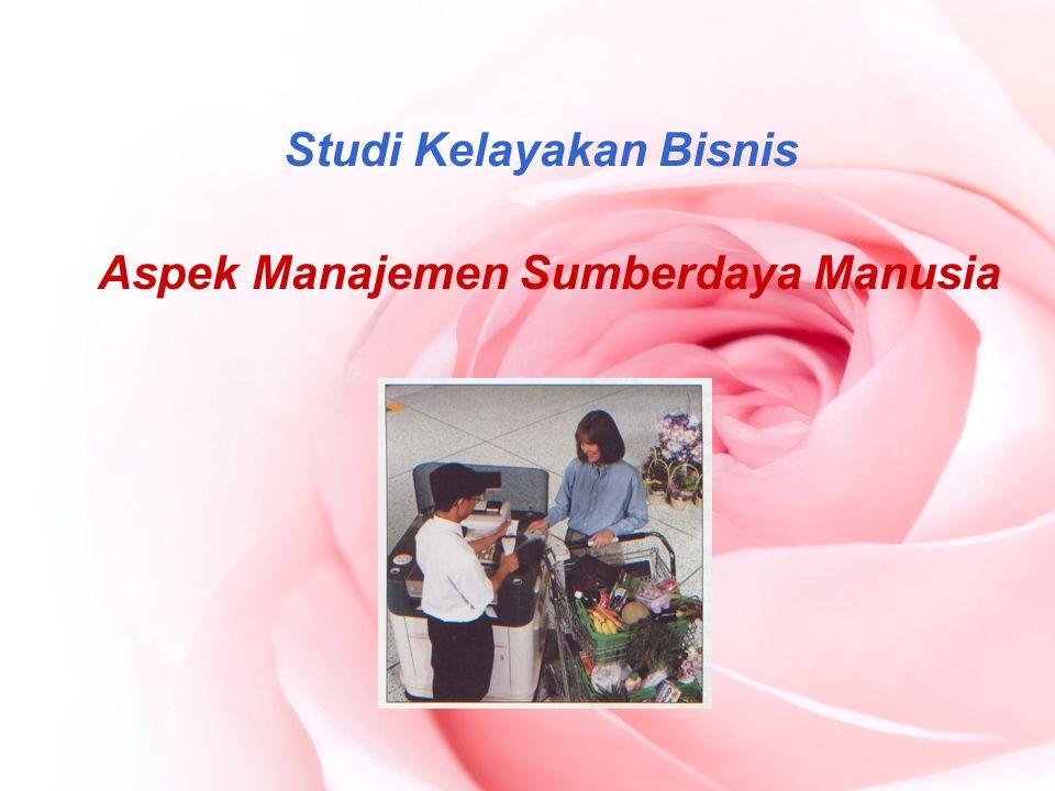 Studi Kelayakan Bisnis Aspek Manajemen Sumberdaya Manusia