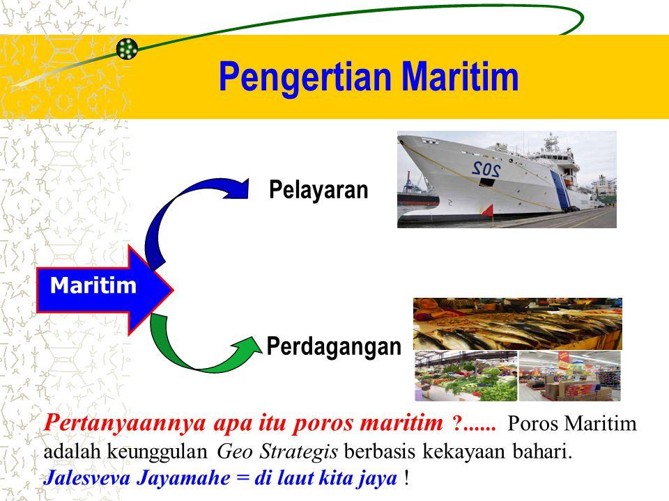 Pengertian Maritim Pelayaran Perdagangan