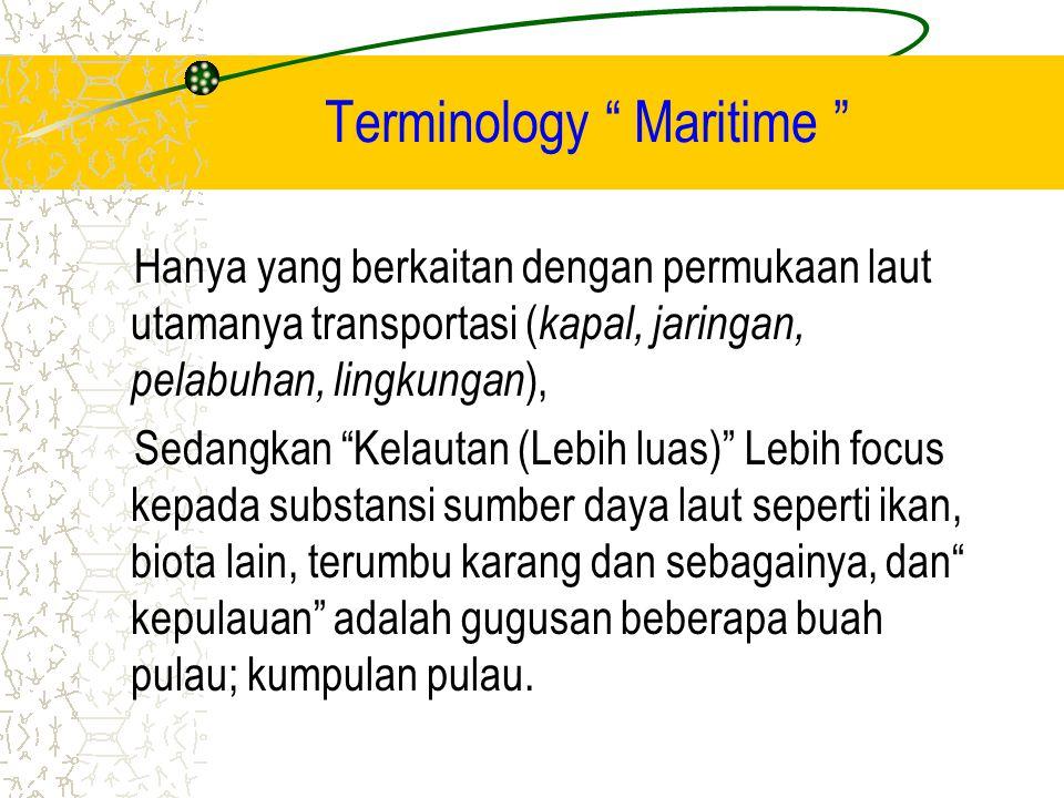 Terminology Maritime
