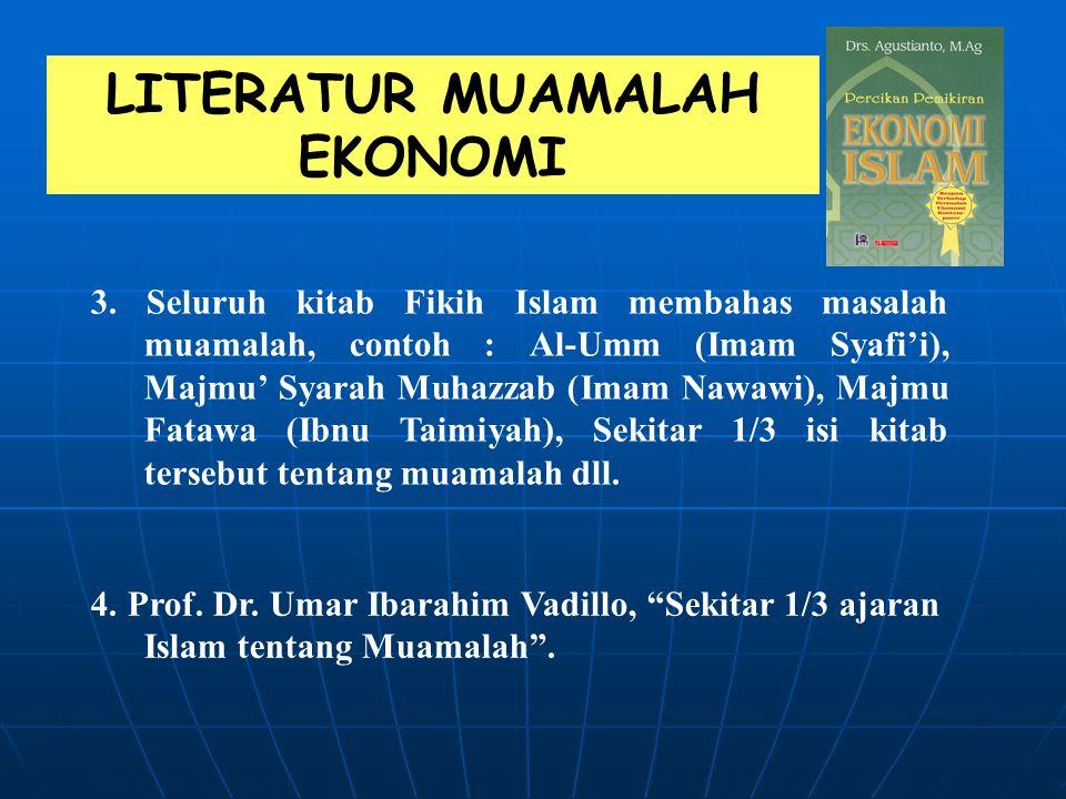 LITERATUR MUAMALAH EKONOMI
