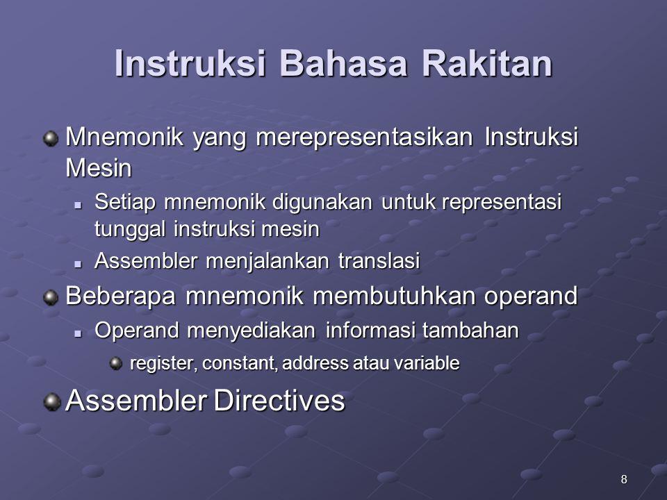 Instruksi Bahasa Rakitan