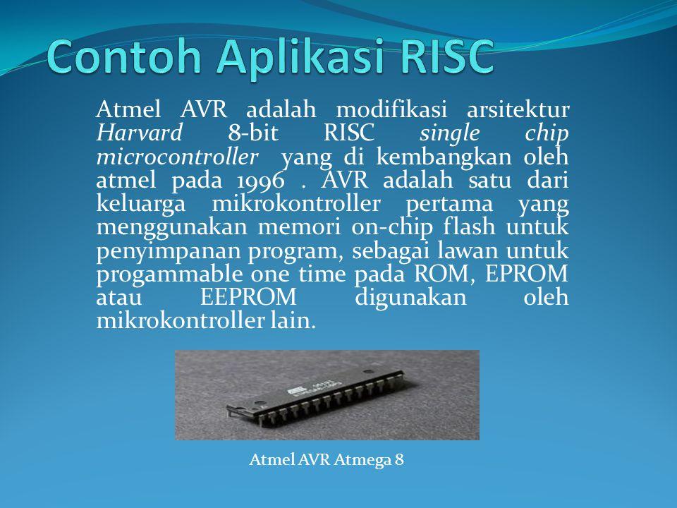 Contoh Aplikasi RISC