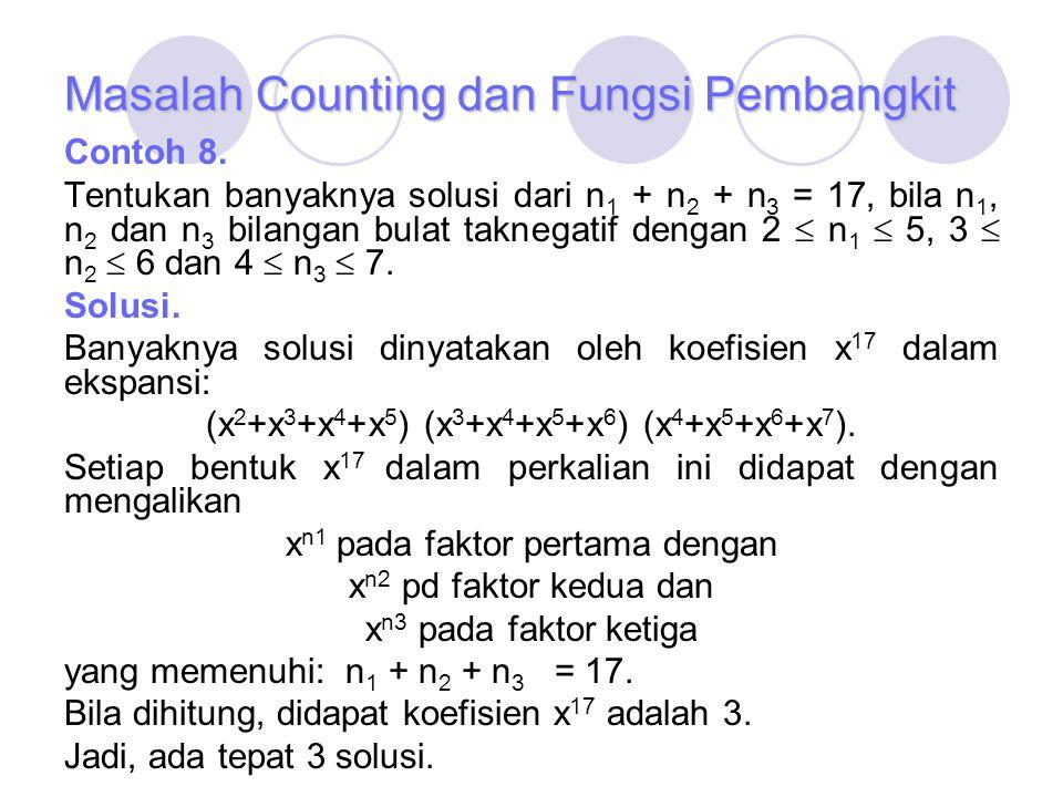 Masalah Counting dan Fungsi Pembangkit