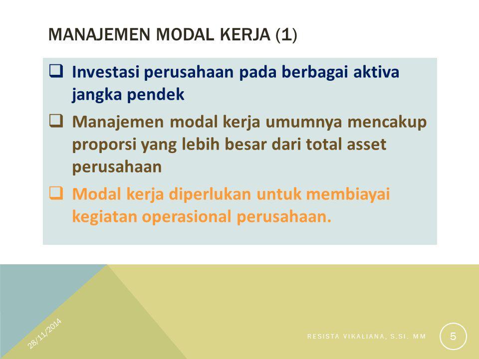 Manajemen modal kerja (1)