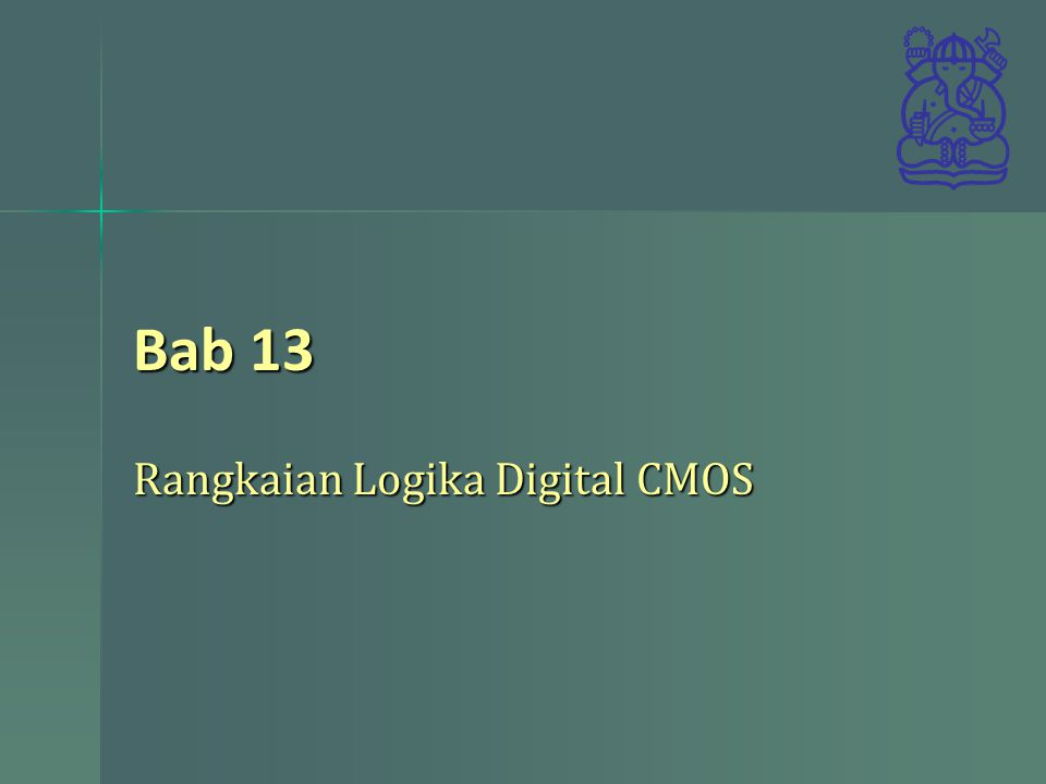 Rangkaian Logika Digital CMOS