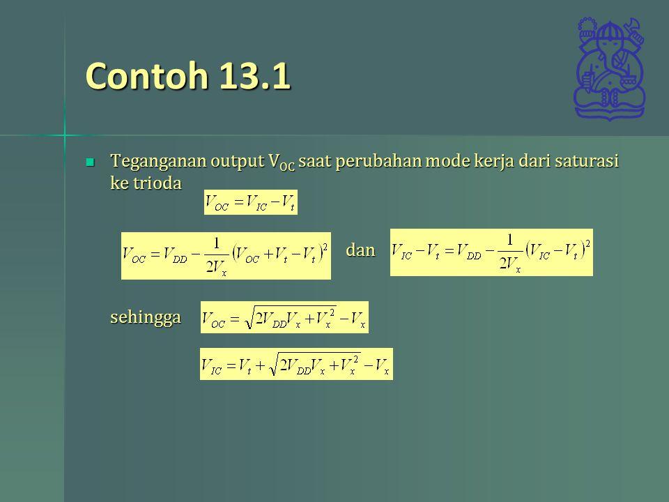 Contoh 13.1