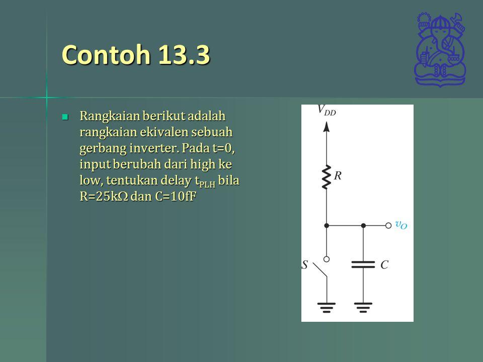 Contoh 13.3