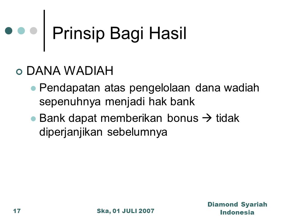 Diamond Syariah Indonesia