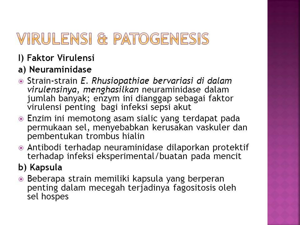 Virulensi & Patogenesis