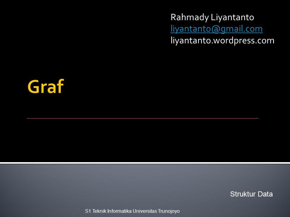 Rahmady Liyantanto liyantanto@gmail.com liyantanto.wordpress.com