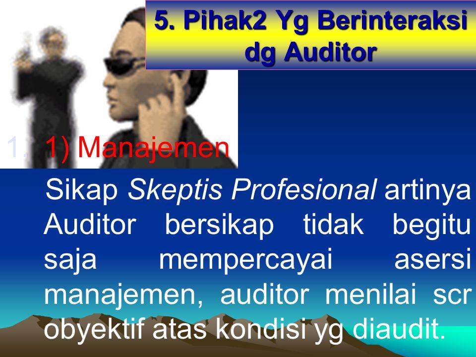 5. Pihak2 Yg Berinteraksi dg Auditor