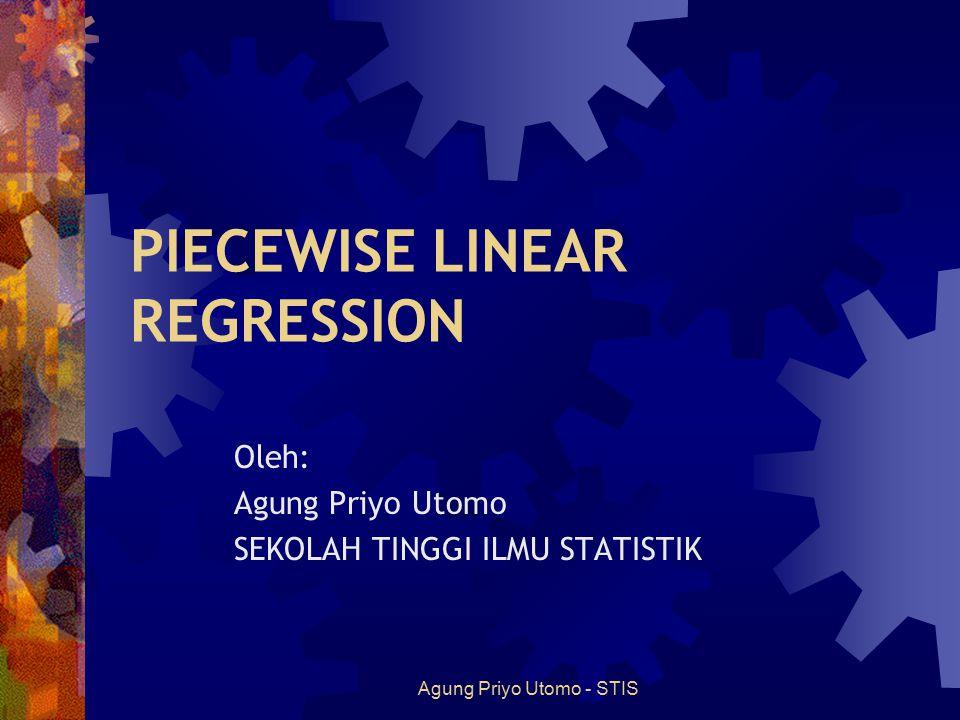 PIECEWISE LINEAR REGRESSION
