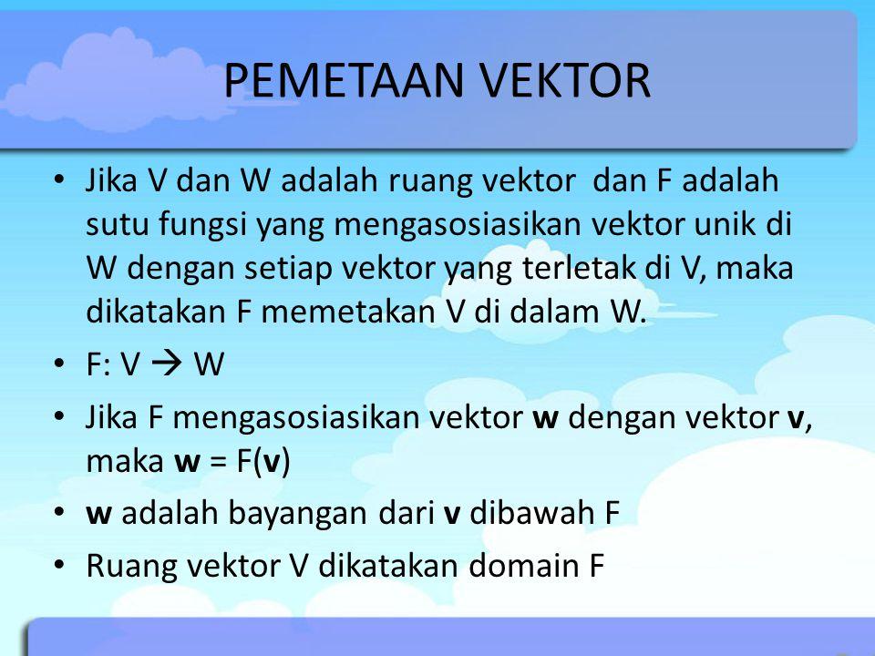 PEMETAAN VEKTOR
