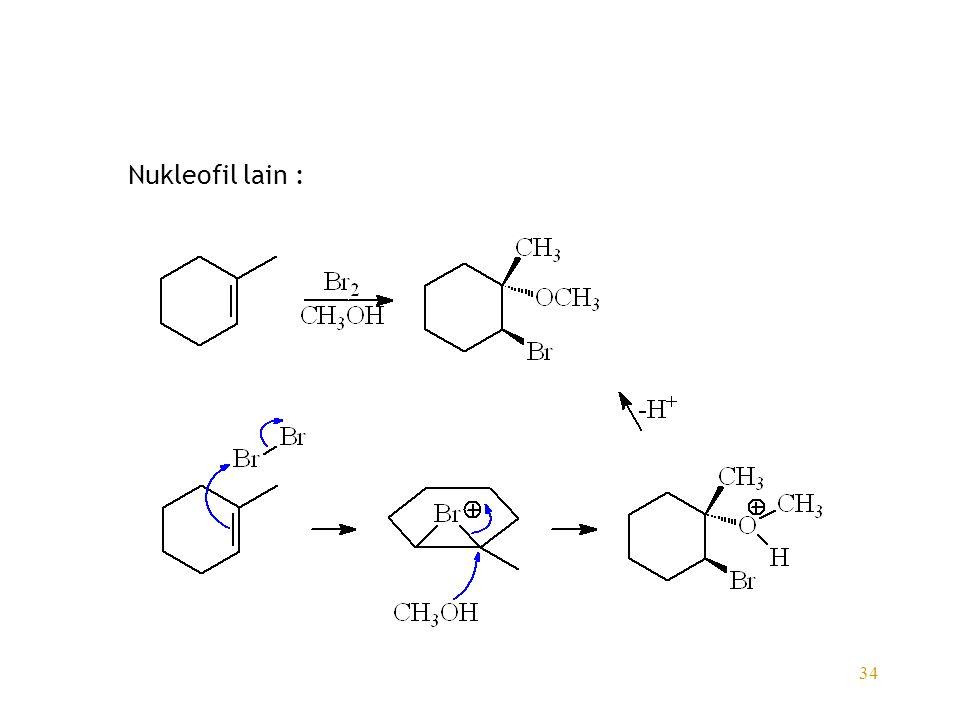Nukleofil lain :