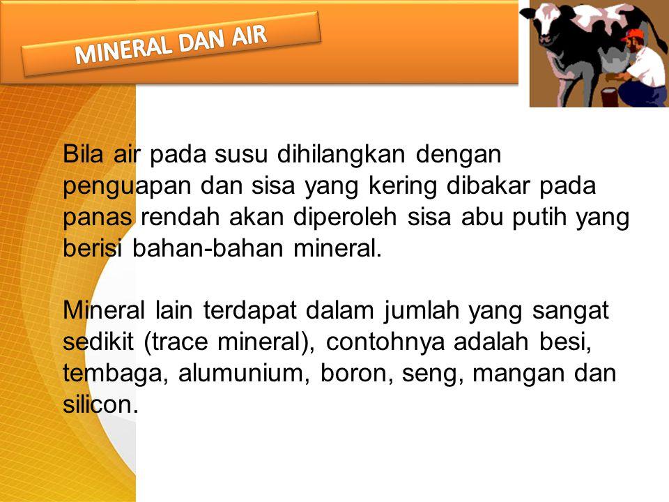 MINERAL DAN AIR