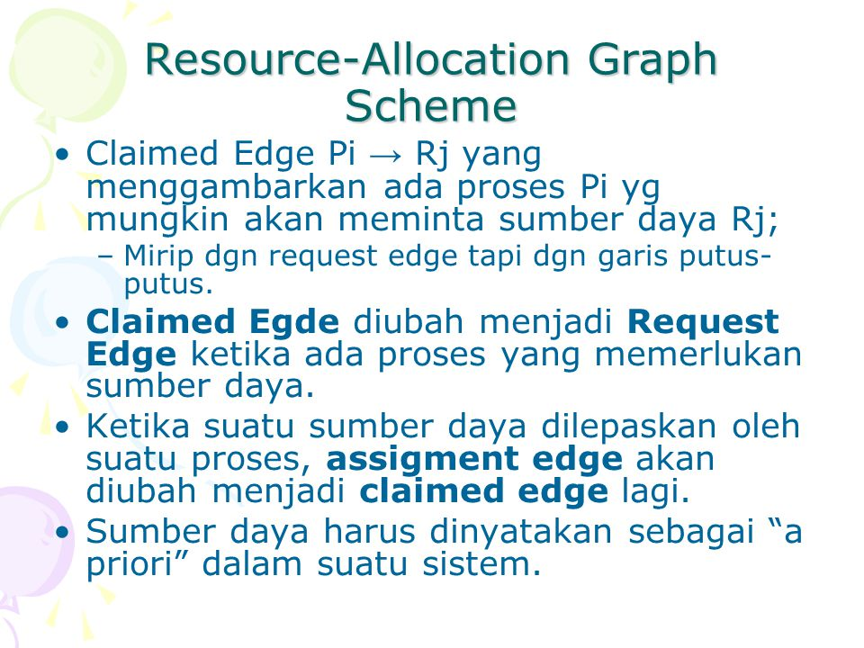 Resource-Allocation Graph Scheme