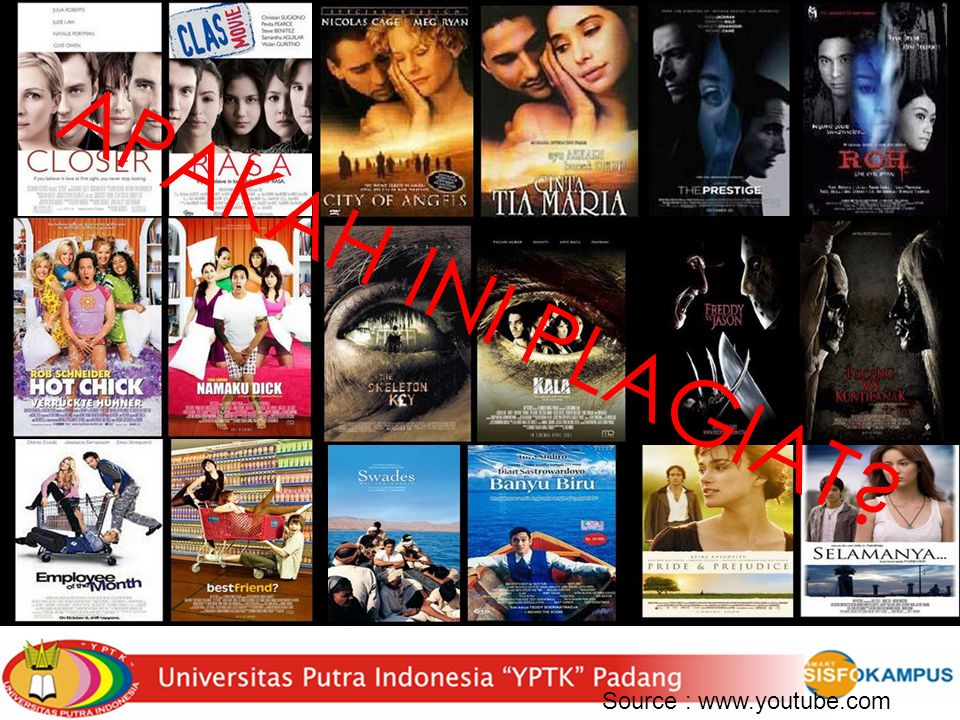 APAKAH INI PLAGIAT Source : www.youtube.com