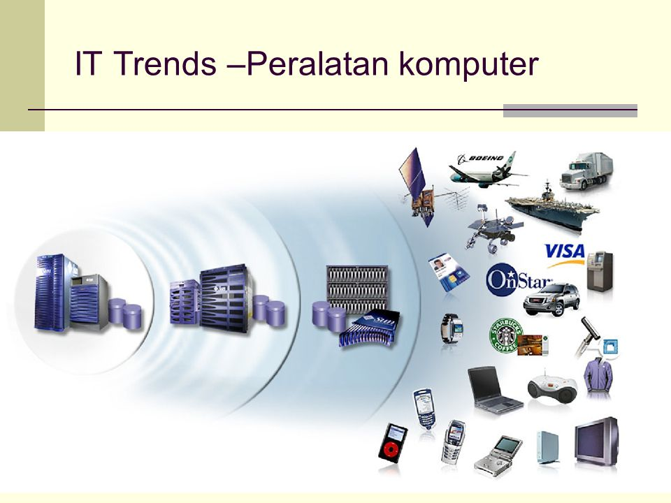 IT Trends –Peralatan komputer